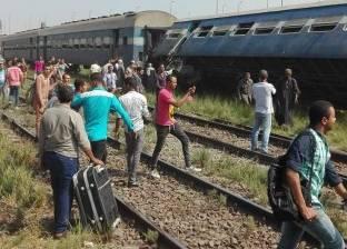 بالفيديو| تصادم قطارين بالإسكندرية.. وأنباء عن ضحايا ومصابين