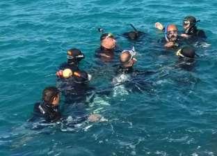 انتشال جثة عامل غرق أثناء استحمامه في ترعة بحر يوسف بالفيوم