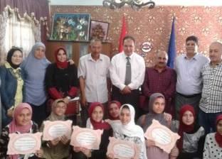 تكريم مديري المدارس وأخصائي الصحافة المتميزين في أبوحمص بالبحيرة