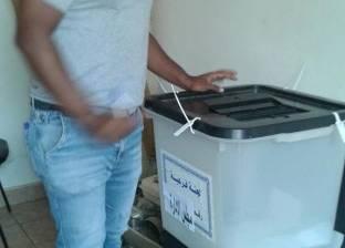 بالصور| إقبال على انتخابات النقابات العمالية بجنوب سيناء