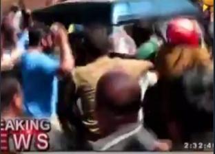 بالفيديو| اللحظات الأولى لإلقاء القبض على مشتبه به في تفجيرات سريلانكا