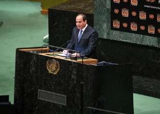 السيسي يستقبل الرئيس الفلسطيني بمقر إقامته في نيويورك