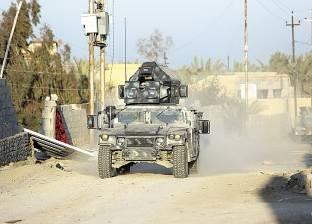 قوات الأمن تمشط الشيخ زويد بعد استهداف مدرعة شرطة بشمال سيناء