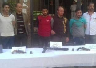 حبس 3 عاطلين قتلوا حارس أمن في بنها 4 أيام