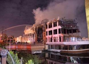 """""""الحماية المدنية"""" تسيطر علي حريق نشب داخل عقار بوسط الإسكندرية"""