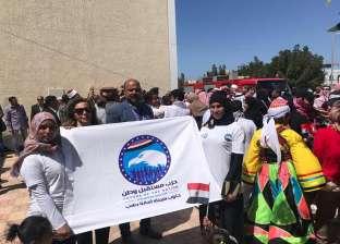 """""""مستقبل وطن"""" جنوب سيناء ينفي توزيع كراتين طعام أمام لجان الاستفتاء"""