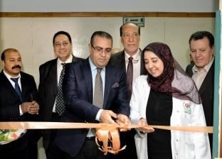 افتتاح جهاز الأشعة المقطعية الجديد بمستشفى الباطنة بجامعة المنصورة
