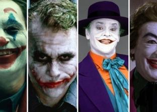 """قبل خواكين فينيكس.. ممثلون قدموا شخصية """"Joker"""" على الشاشة"""