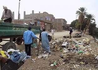 1000 جنيه غرامة إلقاء القمامة بشوارع مركز شبين القناطر