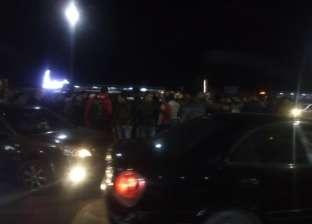 إصابة سيدة في حادث تصادم سيارتين على طريق الكورنيش بالإسكندرية