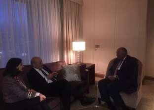 وزير الخارجية يلتقي نظيره الفرنسي على هامشانعقاد قمة الـ20