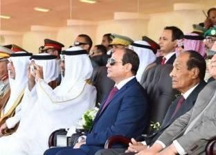 القومية العربية وتجاهل قطر.. أبرز 8 مشاهد من افتتاح قاعدة محمد نجيب