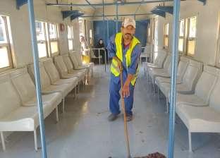 """""""السكة الحديد"""" تواصل أعمال تطوير محطة مصر بالإسكندرية"""
