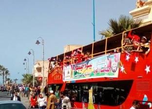 حي الجمرك بالإسكندرية يشارك الجمعيات الخيرية الاحتفال بيوم اليتيم