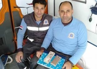 4 مسعفين يسلمون 23 ألف جنيه لذويهم بحادثين بكفر الشيخ