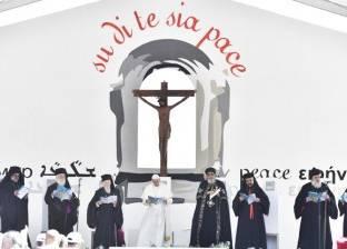 """تواضروس: صلاتي مع بابا الفاتيكان """"قلبية"""".. وبعيدة عن """"الليتورجيا"""""""