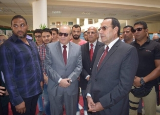 """""""شوشة"""" يزور جامعة سيناء.. ولجنة """"الجامعات"""" تشيد بأدائها"""