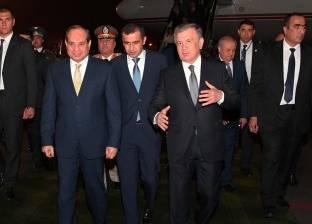السيسي: مستعدون للتعاون مع أوزبكستان في مجال تصنيع السيارات