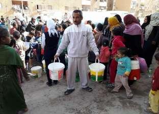 بعد انقطاعها.. ضخ كميات من المياه لأهالي الشيخ زويد لمدة ساعتين