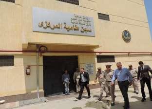 بالصور| مدير أمن الفيوم يوجه قوات الشرطة باليقظة والاستعداد