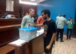 إقبال متوسط بلجان أداب حلوان في جولة الإعادة لانتخابات اتحاد الطلاب