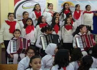 """وكيل """"تعليم دمياط"""" يشهد مسابقة التربية الموسيقية للمرحلة الابتدائية"""
