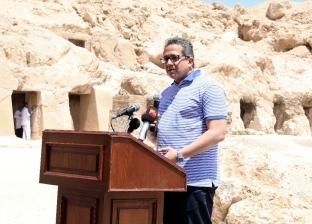 """وزير الآثار: """"متحف التحرير مش هيموت وهننقل 17 ملك للفسطاط خلال 4 شهور"""""""