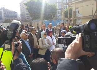 وزيرة الصحة تشيد بمبنى المجمع الإداري ببورسعيد: تكلفته 65 مليون جنيه