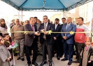 افتتاح معرض للخدمات والمنتجات بجامعة المنصورة