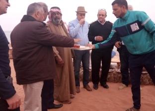 """بالشاي المرمري..قبيلة الترابين تستقبل """"سياحة النواب"""": لازم نساعد البلد"""