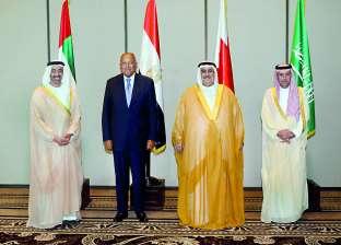 شكري يجدد لمبعوثي وزير خارجية أمريكا مطالب الرباعي العربي تجاه قطر