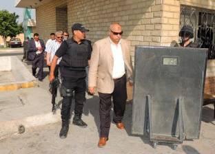 """مدير أمن السويس يقود حملة لتمشيط المناطق المحيطة بـ""""المجرى الملاحي"""""""