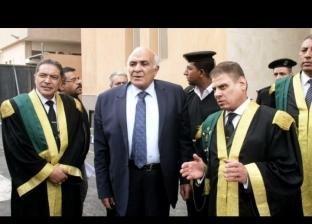 """رئيس """"استئناف القاهرة"""" يتفقد مجمع محاكم جنايات القاهرة الجديد بطرة"""