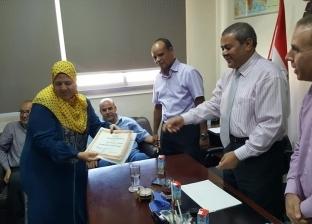 بالصور| الإدارة العامة للمياه الجوفية بجنوب سيناء تكرم العاملين المتميزين
