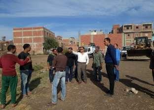 حملة لفحص تراخيص البناء ورصد حالات التعدي على الأراضى الزراعية بدمياط