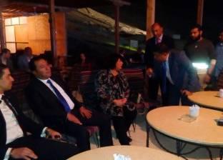 وصول وزيرة الثقافة حفل افتتاح مهرجان الأقصر للسينما الإفريقية