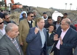 """""""طاهر"""": محطة مياه أرض """"فيديكو"""" إحدى أهم المشروعات القومية العملاقة"""