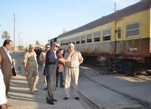 السكة الحديد تنفي وقوع حادث تصادم قطار بالأقصر