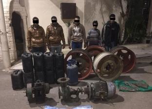 """سقوط عصابة """"المنعكش"""" بعد ارتكاب 10 وقائع سرقات في الدقهلية"""