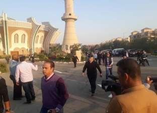 أداء صلاة الجنازة على العميد ساطع النعماني في مسجد الشرطة