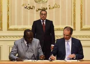 رئيس الوزراء يشهد توقيع خطاب نوايا بين وزير الاتصالات ونظيره الجامبي