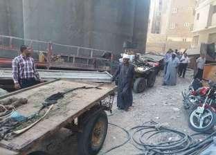 حي حلوان يطلق حملة لمنع سير الكارو بالشوارع