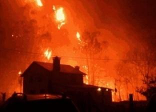 عشرات الحرائق تجتاح شمال إسبانيا.. وأكثر من 700 شخص يشاركون في إخمادها