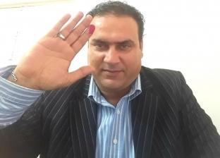 أحمد شامخ أول مواطن يدلي بصوته في الاستفتاء بمطروح: نعم لاستقرار الوطن