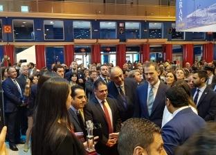 رئيس الهيئة المصرية العامة لتنشيط السياحة يفتتح الجناح المصري بإسبانيا