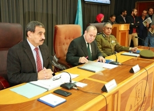 بالصور| محافظ كفر الشيخ يترأس جلسة المجلس التنفيذي الشهري