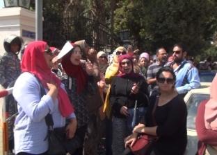 نظم عدد من أولياء أمور المدارس الخاصة واللغات بالقاهرة، وقفة احتجاجية أمام مبنى وزارة التربية والتعليم الفني، اعتراضا على إلغاء مادة المستوى الرفيع واللغة الأجنبية الثانية.