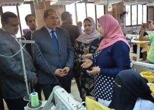 سعفان: تسويق منتجات متدربي الوزارة بمعارض الأسر المنتجة