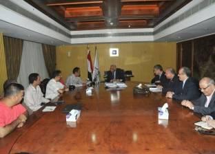 وزير النقل يلتقي وفد ممثلي سائقي خطوط المترو الثلاثة
