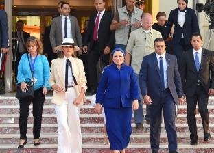 السفارة الأمريكية تشكر مصر على حسن استضافة ميلانيا ترامب